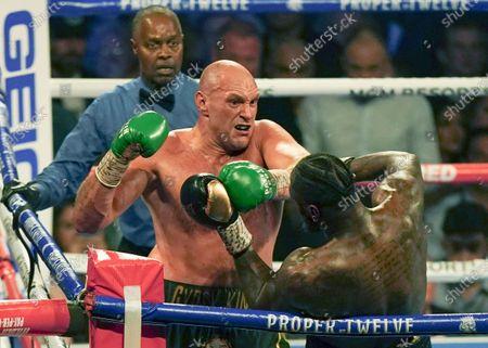 Editorial photo of Deontay Wilder v Tyson Fury II, WBC heavyweight title, Boxing rematch, MGM Grand, Las Vegas, USA - 22 Feb 2020