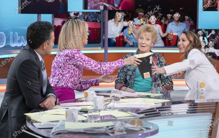 Adil Ray, Kate Garraway with Christine Hamilton and Clare Brockett