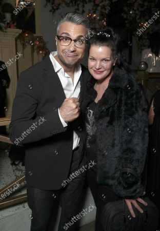 Stock Picture of Jaime Camil and Pauley Perrette