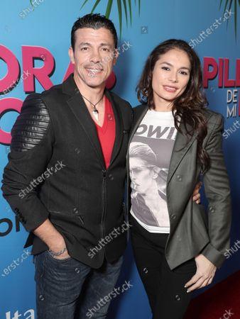 Stock Picture of Al Coronel and Christiana Leucas