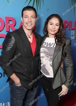 Al Coronel and Christiana Leucas