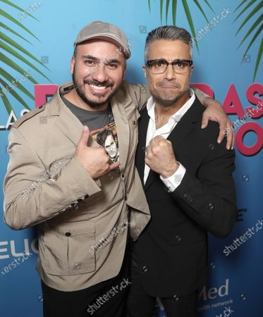 Alex Montiel and Jaime Camil attend