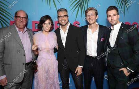 Stock Picture of Brian Baumgartner, Sandra Echeverria, Jaime Camil, Kevin Holt and James Maslow attend