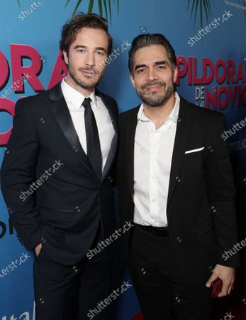 Ryan Carnes and Omar Chaparro attend