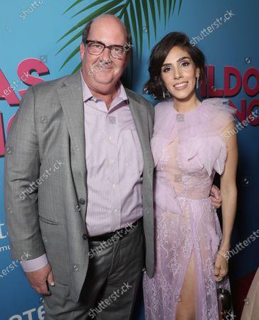Brian Baumgartner and Sandra Echeverria