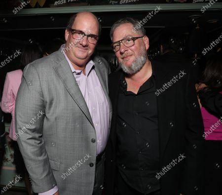 Brian Baumgartner and Director Diego Kaplan