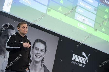 Editorial photo of Puma annual results, Herzogenaurach, Germany - 19 Feb 2020