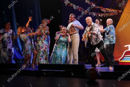 Editorial image of Jimmy Buffett 'Escape to Margaritaville' play opening night, Curtain Call, Dolby Theatre, Los Angeles, USA - 18 Feb 2020