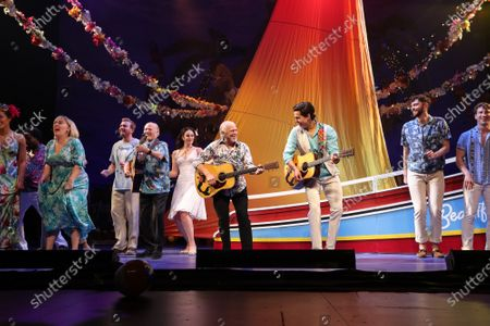 Editorial photo of Jimmy Buffett 'Escape to Margaritaville' play opening night, Curtain Call, Dolby Theatre, Los Angeles, USA - 18 Feb 2020