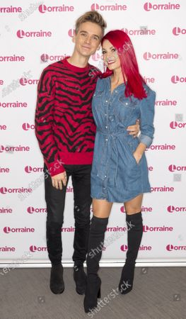 Joe Sugg and Dianne Buswell