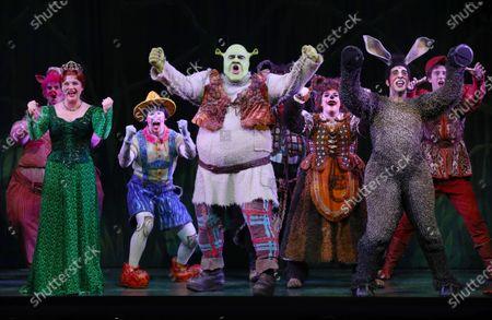 Editorial picture of Shrek The Musical, in Melbourne, Australia - 19 Feb 2020