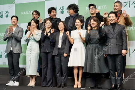 Editorial picture of 'Parasite' film press conference, Seoul, South Korea - 19 Feb 2020