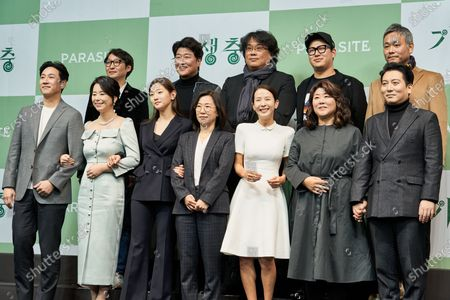 Editorial image of 'Parasite' film press conference, Seoul, South Korea - 19 Feb 2020