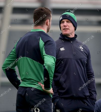 Paul O'Connell with James Ryan