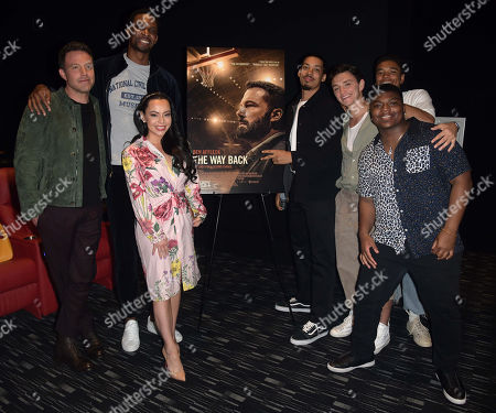 Editorial image of 'The Way Back' film screening, Miami, USA - 18 Feb 2020