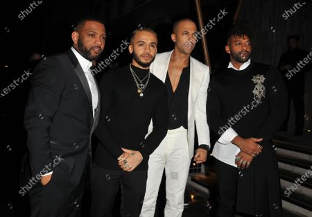 JLS - Aston Merrygold, Oritse Williams, Marvin Humes, and Jonathan Gill