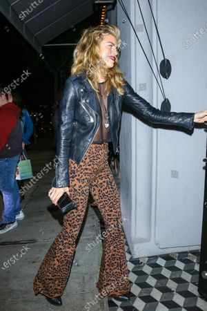 Editorial photo of AnnaLynne McCord out and about, West Hollywood, Los Angeles, USA - 18 Feb 2020