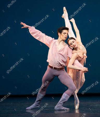 Stock Image of Opera HouseMarianela Nunez. Federico Bonelli