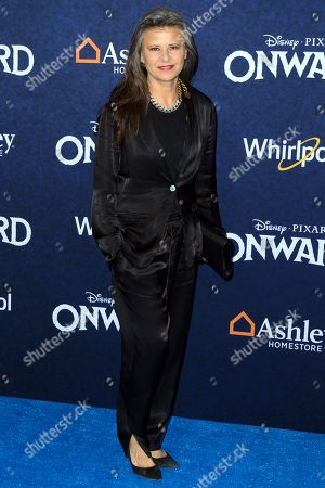 Editorial picture of 'Onward' film premiere, Arrivals, El Capitan Theatre, Los Angeles, USA - 18 Feb 2020