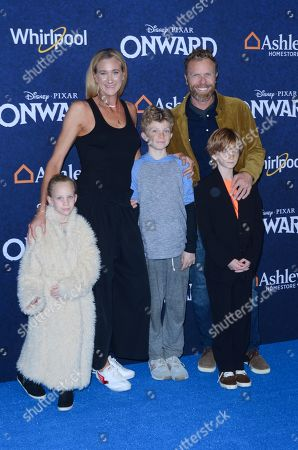 Stock Picture of Kerri Walsh Jennings and family