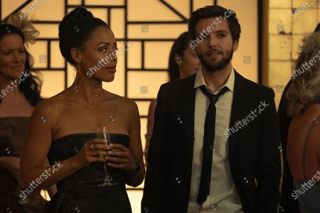 Nina Toussaint White as Kate Hatfield and Guy Burnet as Tom Hatfield