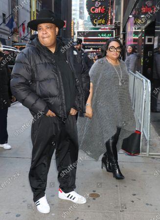 Editorial photo of 'Strahan, Sara & Keke' TV show, New York, USA - 19 Feb 2020