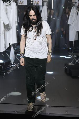 Editorial photo of Gucci show, Runway, Fall Winter 2020, Milan Fashion Week, Italy - 19 Feb 2020