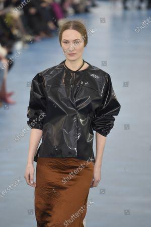 Editorial photo of Arthur Arbesser show, Runway, Fall Winter 2020, Milan Fashion Week, Italy - 19 Feb 2020