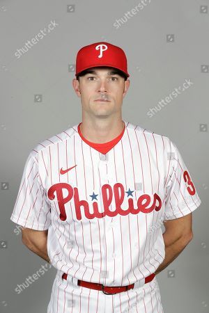 Stock Photo of This is a 2020 photo of David Robertson of the Philadelphia Phillies baseball team. This image reflects the Phillies active roster as of, when this image was taken
