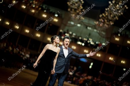 Editorial picture of 64th Vienna Opera Ball dress rehearsal, Austria - 19 Feb 2020
