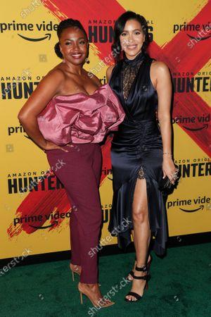 Stock Photo of Jerrika Hinton and Julissa Bermudez