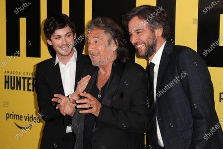 Logan Lerman, Al Pacino and Josh Radnor