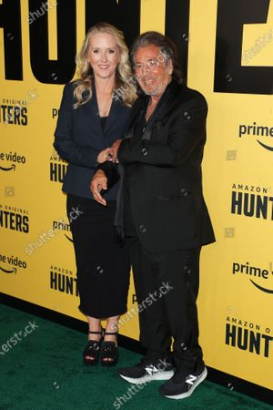 Stock Photo of Jennifer Salke and Al Pacino