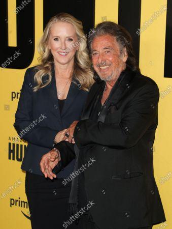 Stock Picture of Jennifer Salke and Al Pacino