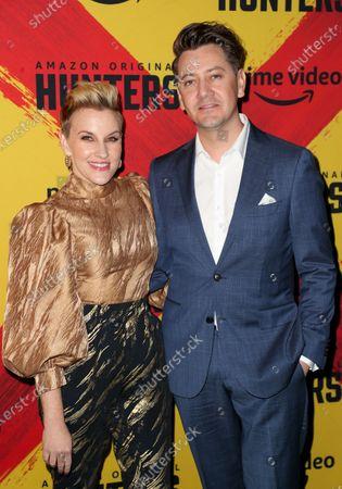 Kate Mulvany and Hamish Michael