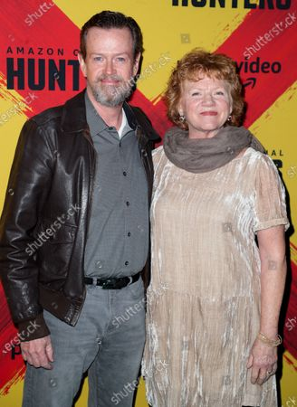 Stock Picture of Dylan Baker and Becky Ann Baker