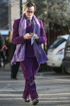 Editorial picture of Street Style, Fall Winter 2020, Milan Fashion Week, Italy - 19 Feb 2020