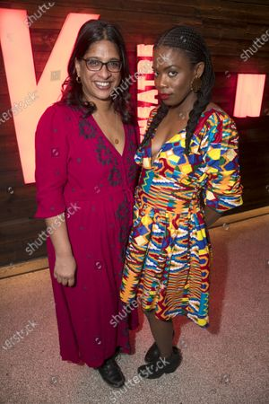 Stock Photo of Indhu Rubasingham (Director) and Antoinette Nwandu (Author)