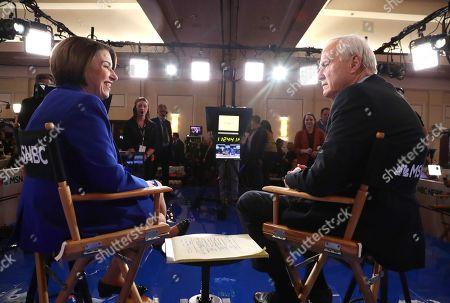 Editorial photo of Ninth 2020 Democratic Party Presidential Debate, Las Vegas, USA - 19 Feb 2020