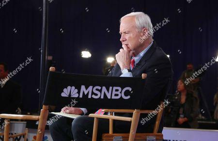Editorial picture of Ninth 2020 Democratic Party Presidential Debate, Las Vegas, USA - 19 Feb 2020