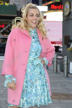 Busy Philipps in Times Square