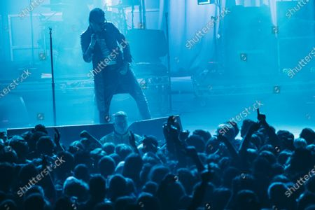 Editorial image of The Strokes in concert at Roundhouse, London, UK - 19 Feb 2020