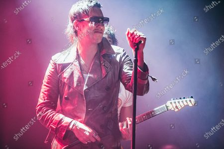 Editorial picture of The Strokes in concert at Roundhouse, London, UK - 19 Feb 2020