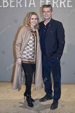 Editorial photo of Alberta Ferretti show, Arrivals, Fall Winter 2020, Milan Fashion Week, Italy - 19 Feb 2020