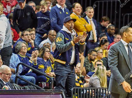 Editorial picture of NCAA Basketball Michigan vs Rutgers, Piscataway, USA - 19 Feb 2020