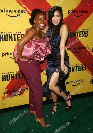 Jerrika Hinton and Julissa Bermudez