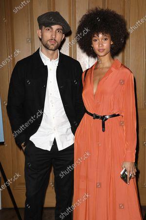 Stock Photo of Tobias Sorensen and Wallette Watson