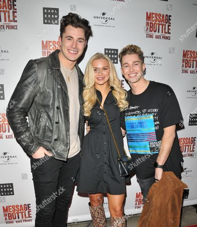 Curtis Pritchard, AJ Pritchard and Abbie Quinnen