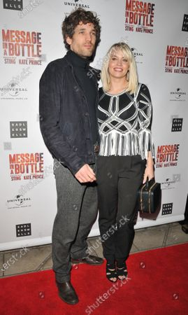 Editorial picture of 'Message in a Bottle' musical, Arrivals, Peacock Theatre, London, UK - 19 Feb 2020