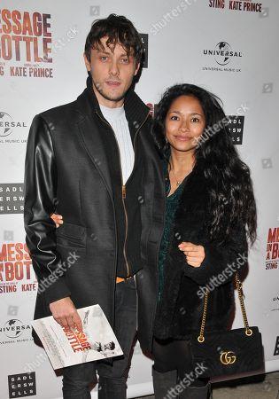 Stock Image of Tyger Drew-Honey and Frankie Little